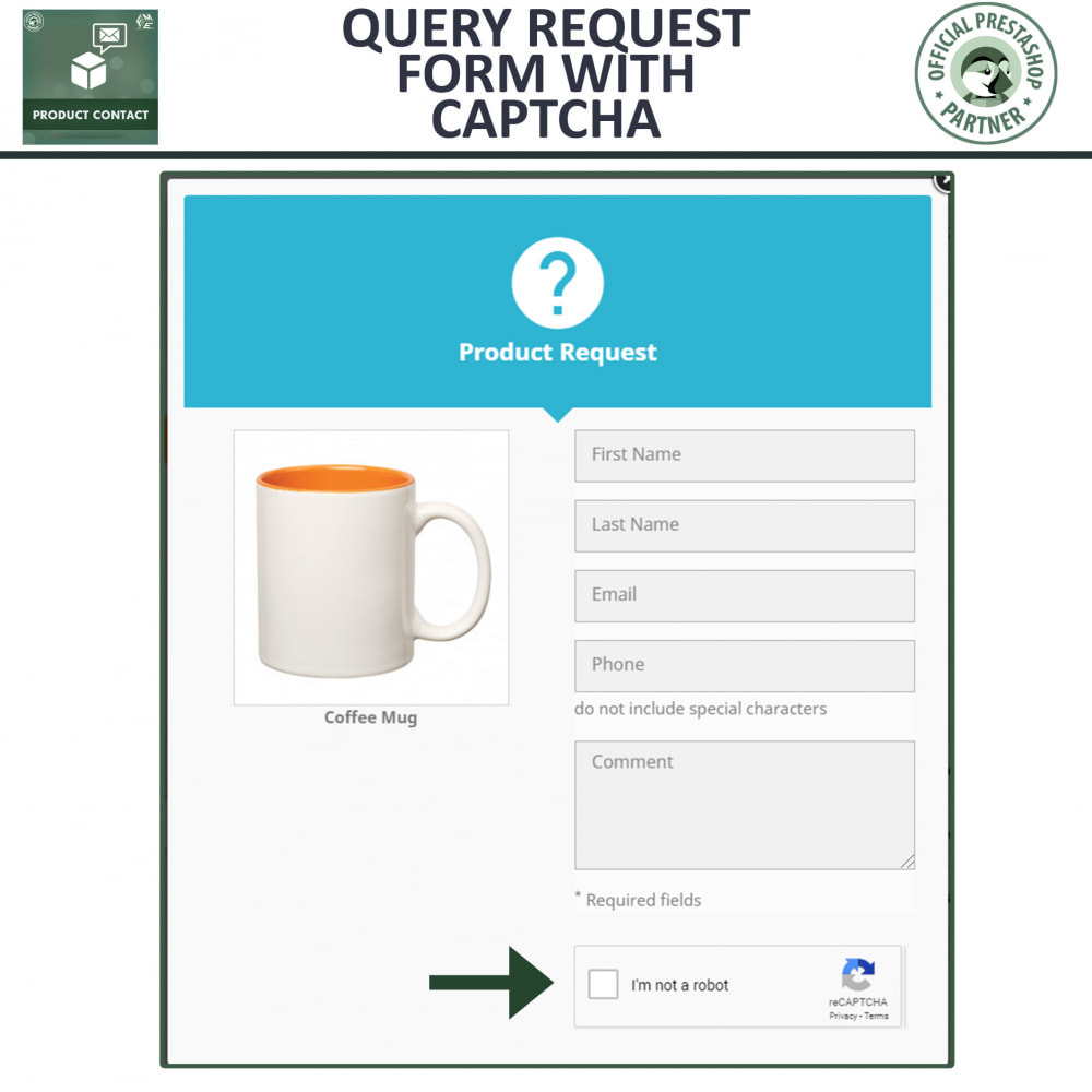module - Contact Forms & Surveys - Product Contact - Enquiry Form - 3