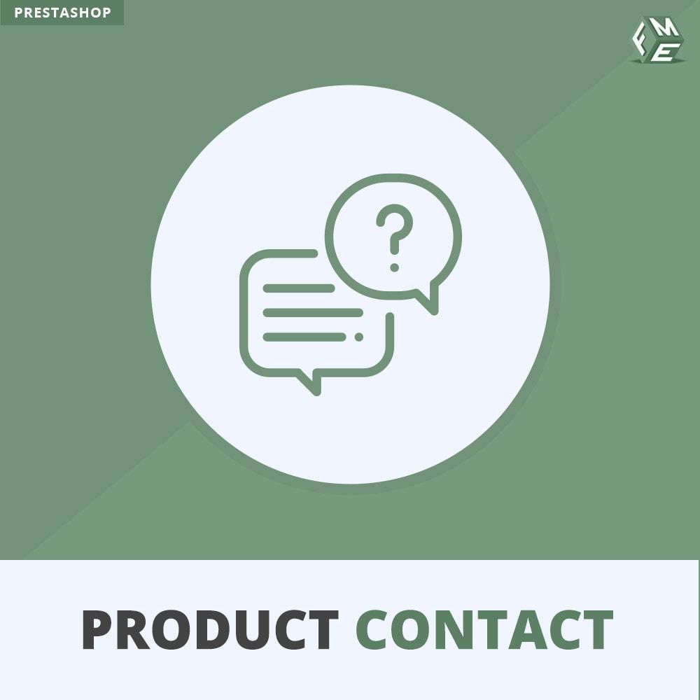 module - Formulario de contacto y Sondeos - Contacto del producto - Formulario de solicitud - 1
