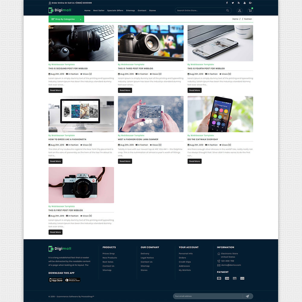 theme - Electronics & Computers - DigiMall - The Best Electronics Super Store - 6