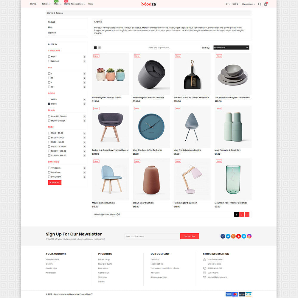 theme - Huis & Buitenleven - Modza - The Best Furniture Store - 3