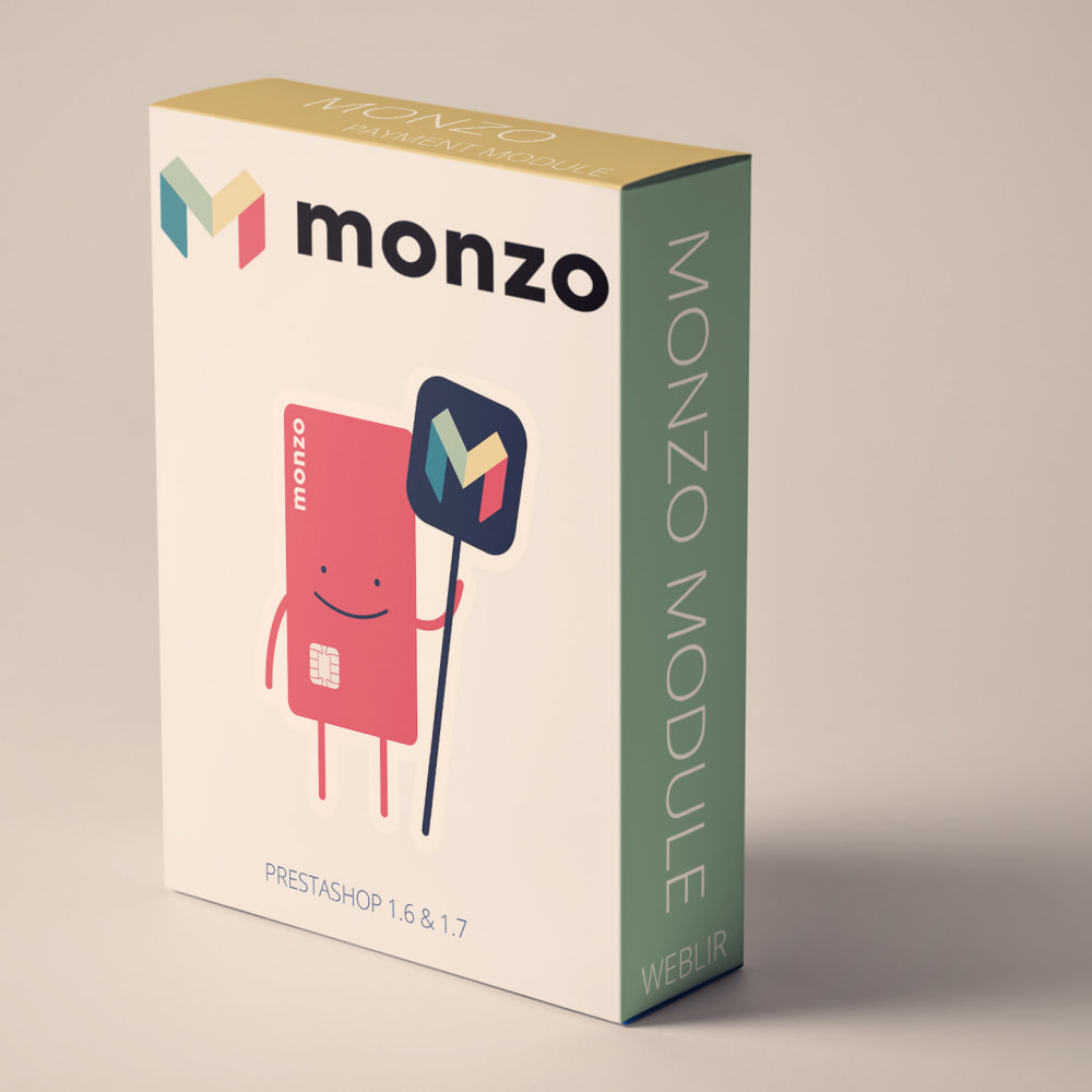 module - Payment by Card or Wallet - Monzo Manual Payments - 1