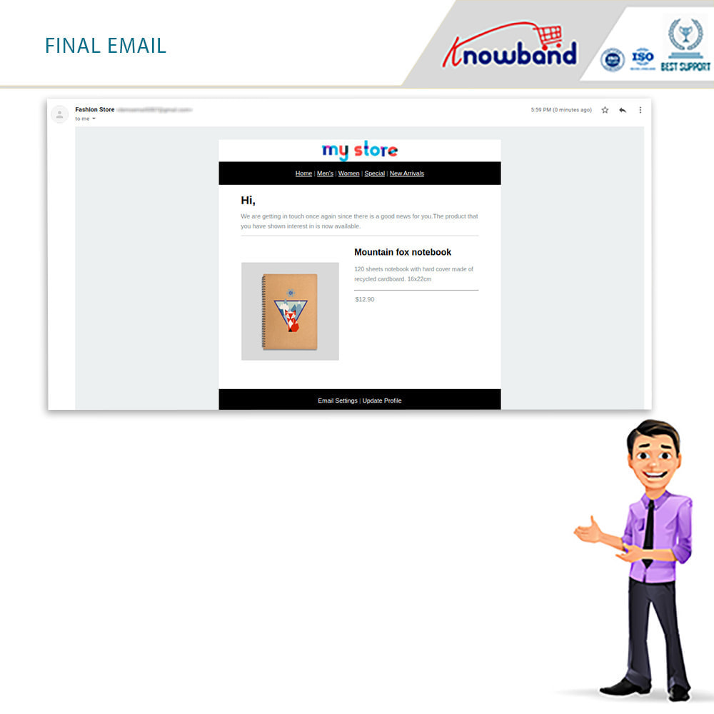 module - Emails & Notificaties - Knowband - Back in Stock Notification - 5