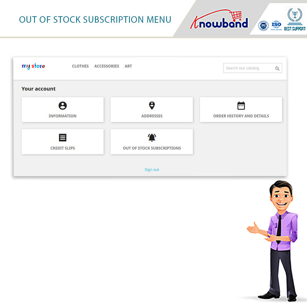 module - Emails & Notificaties - Knowband - Back in Stock Notification - 7