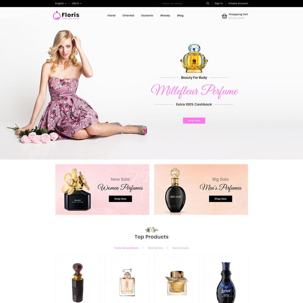 theme - Prezenty, Kwiaty & Uroczystości - Floris - Perfume Shop - 3