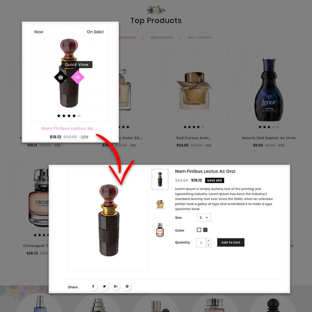 theme - Prezenty, Kwiaty & Uroczystości - Floris - Perfume Shop - 8