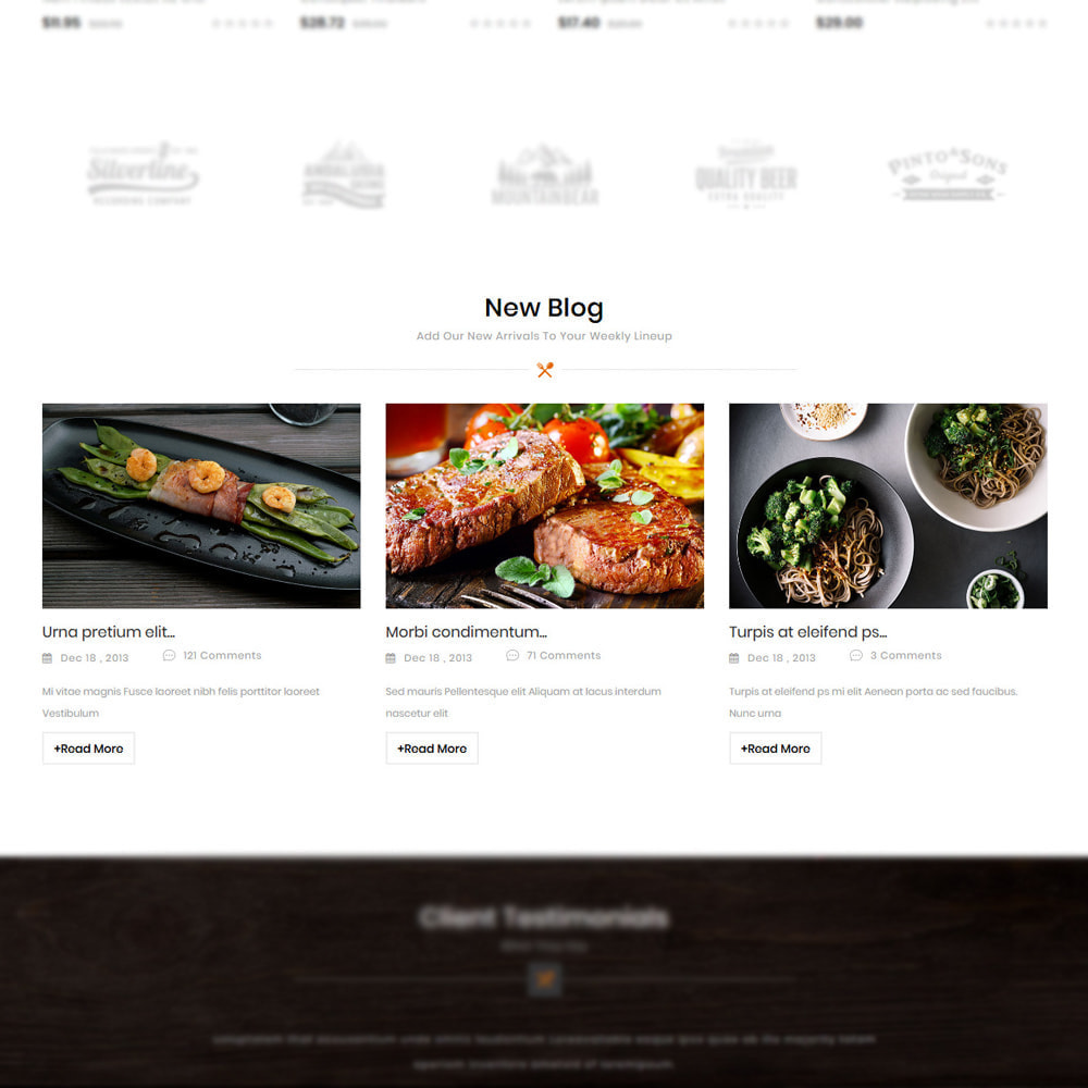 theme - Alimentos & Restaurantes - Foodizm - Food Store - 5