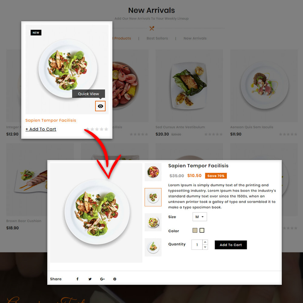 theme - Alimentos & Restaurantes - Foodizm - Food Store - 6