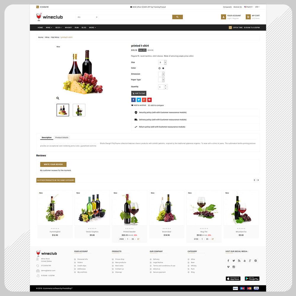 theme - Bebidas & Tabaco - USA Wine - Wine Big Store - 4