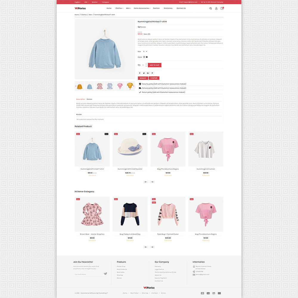 theme - Moda y Calzado - Woriox - Fashion & Clothing Store - 4