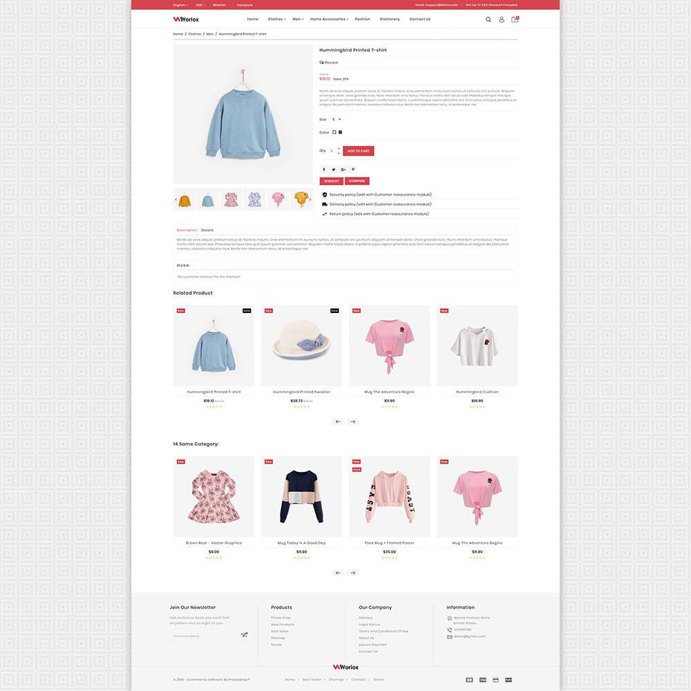theme - Mode & Schoenen - Woriox - Fashion & Clothing Store - 4