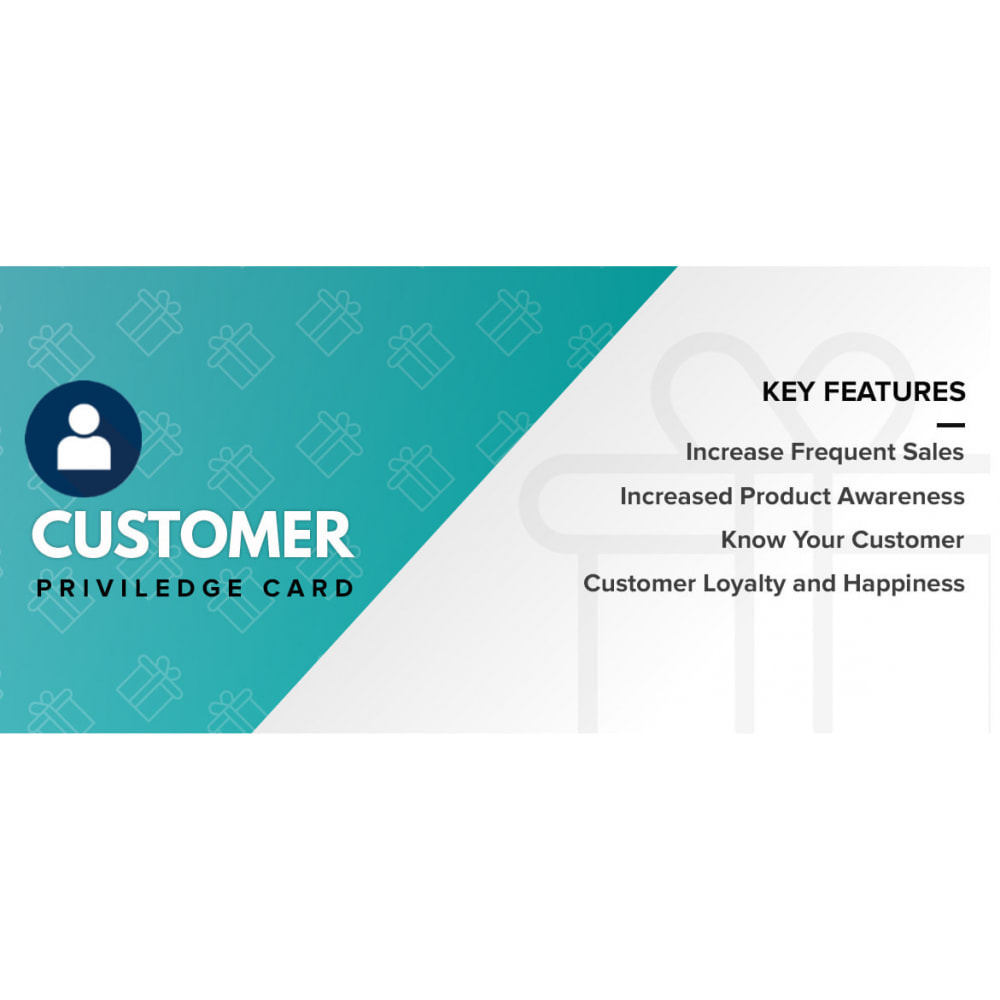 module - Programa de Fidelidad - Customer Privilege Card - 1