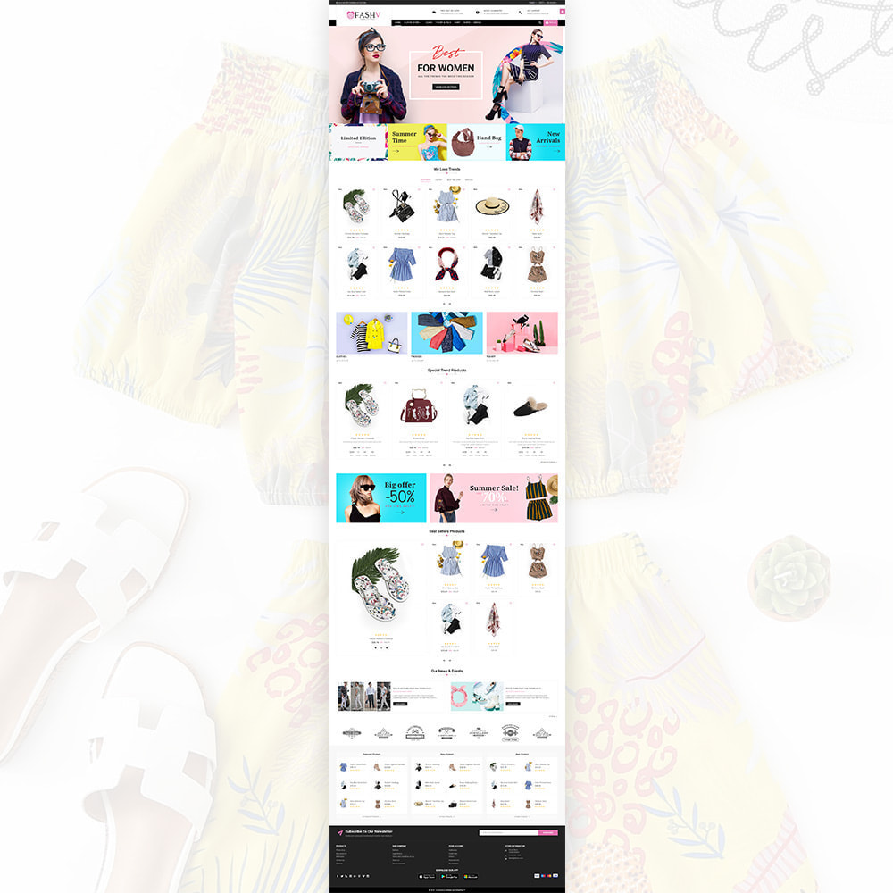 theme - Mode & Schoenen - FashV – Fashion Stylish Super Store - 2