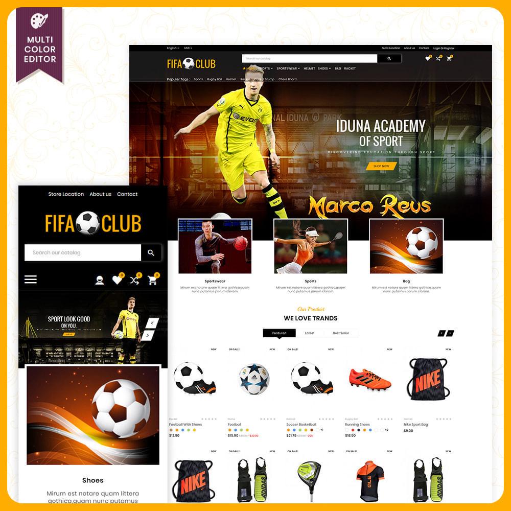 theme - Sport, Attività & Viaggi - Fifa Club Sports–Accessories Store - 1