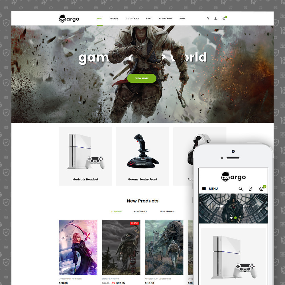 theme - Sports, Activities & Travel - Argo Games Store - 1