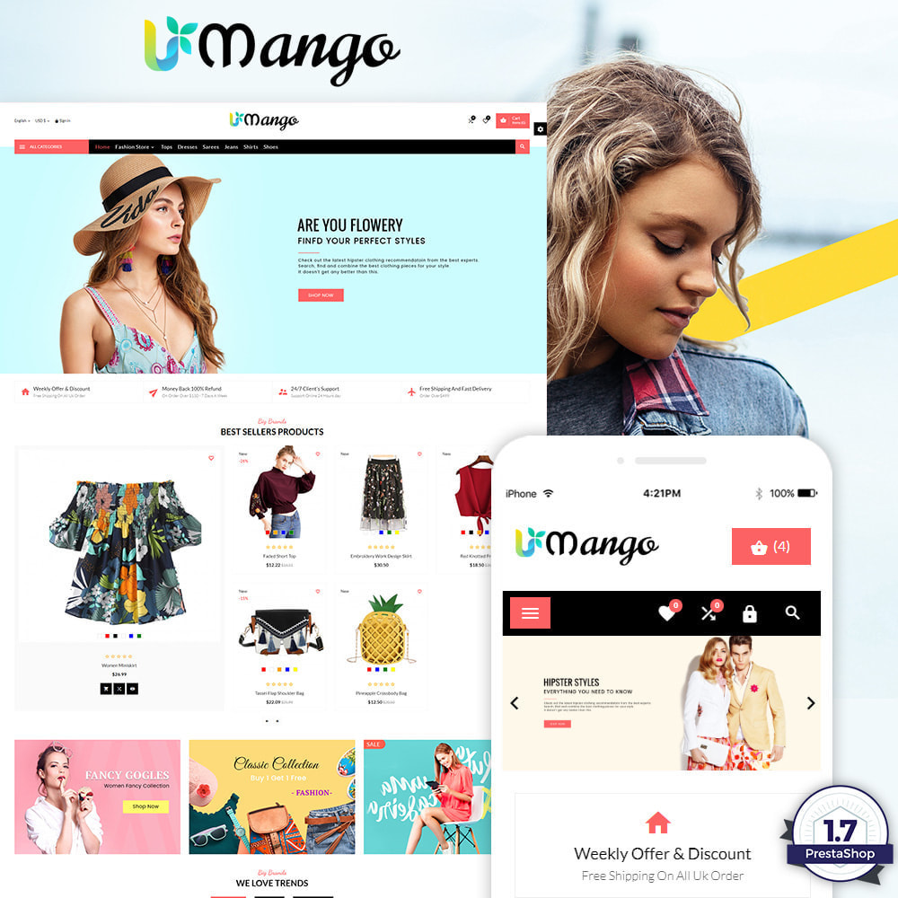 theme - Fashion & Shoes - Mango – Fashion and Stylish Mega Shop - 1