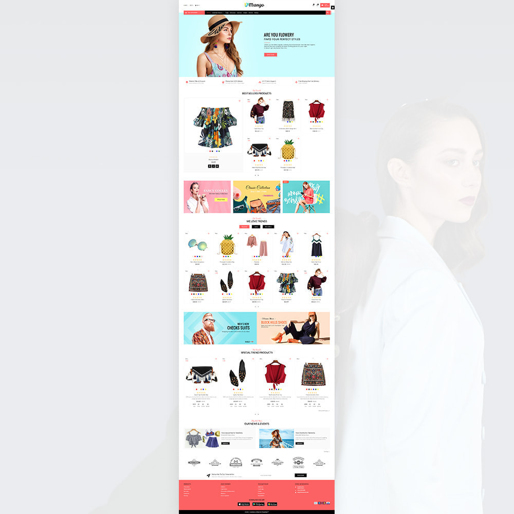 theme - Fashion & Shoes - Mango – Fashion and Stylish Mega Shop - 2