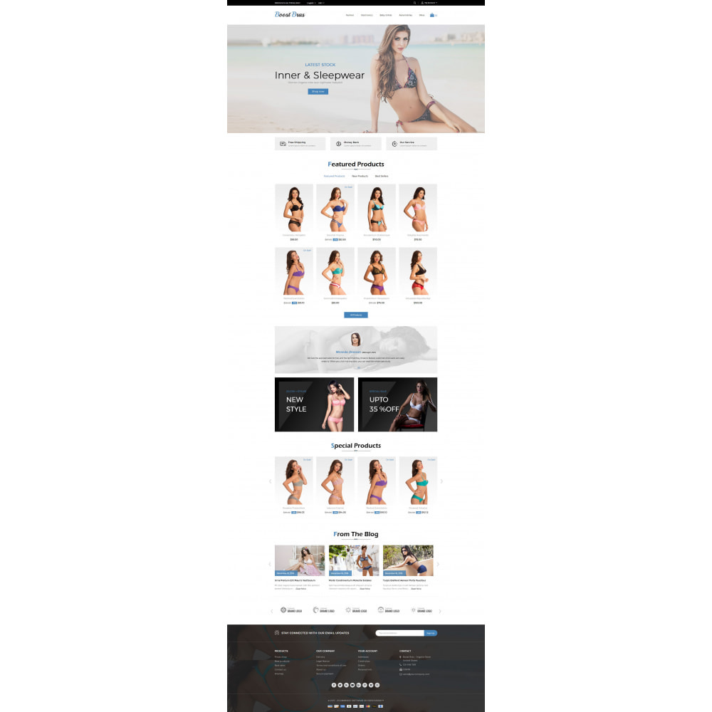 theme - Lingerie & Adulte - Boost Bras - Lingerie Store - 2