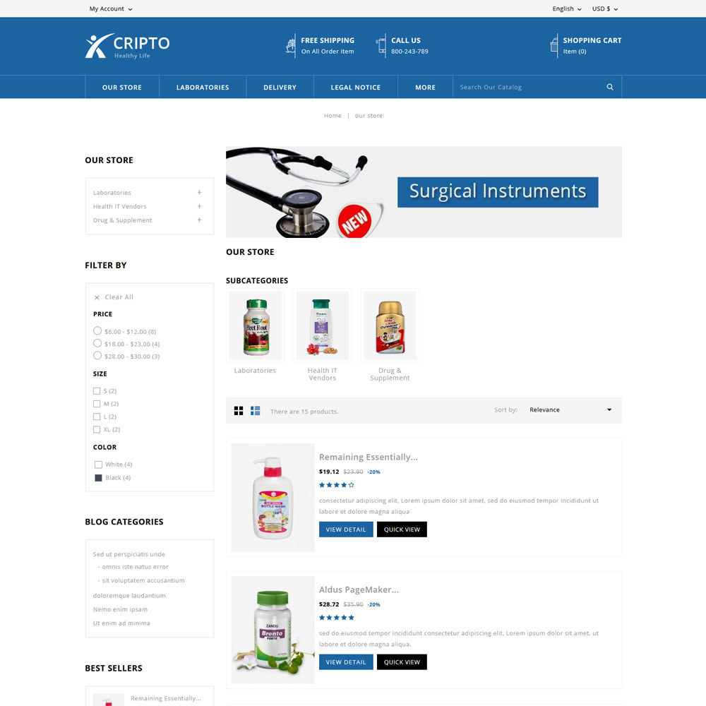 theme - Health & Beauty - Cripto - Mega Medicine Store - 5