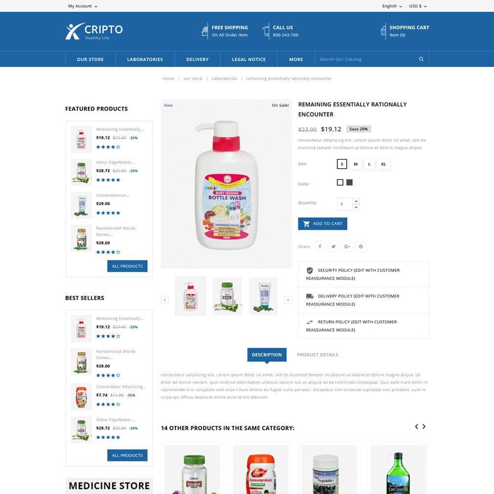 theme - Salud y Belleza - Cripto - Mega tienda de medicina - 7