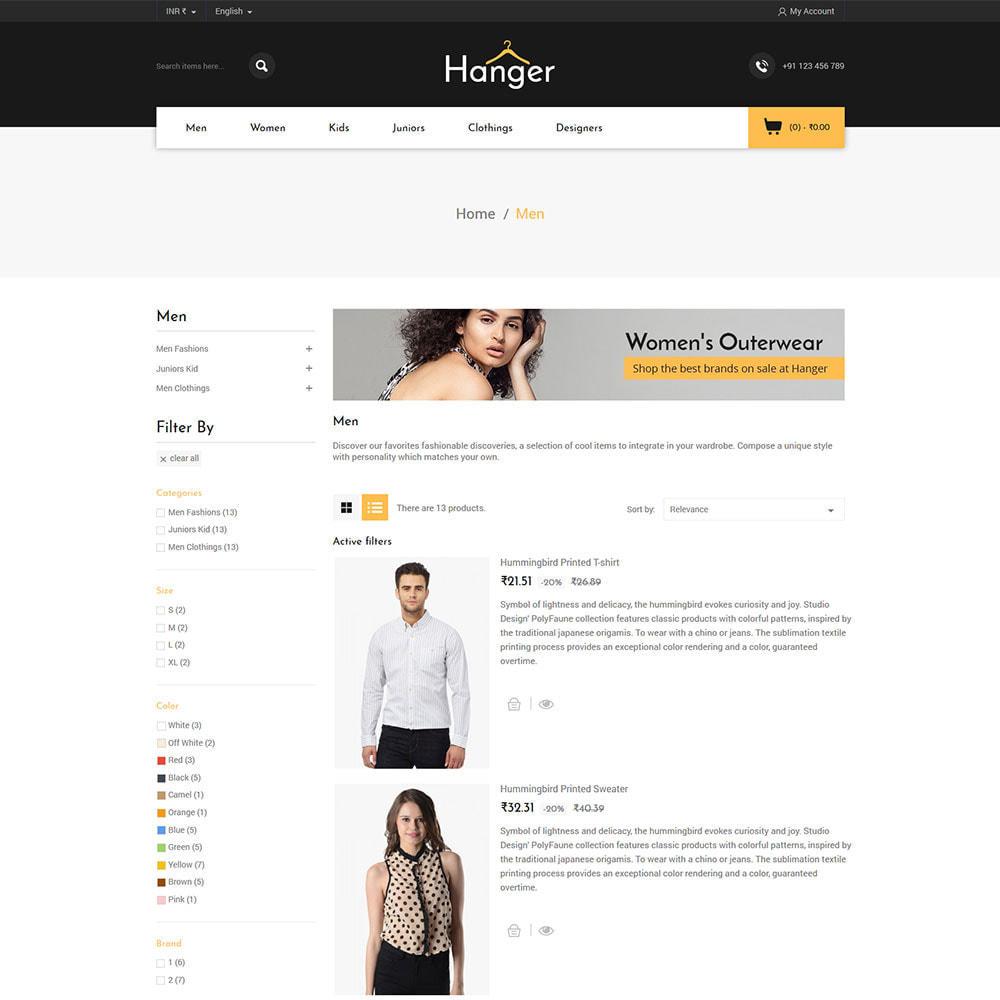 theme - Fashion & Shoes - Fashion Designer - Parallax Style Store - 3