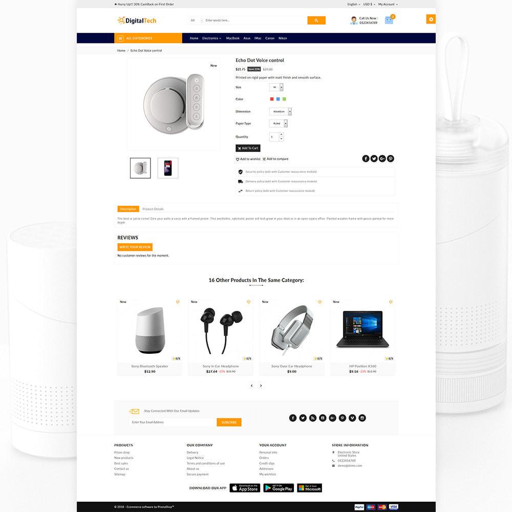 theme - Elektronik & High Tech - Digitel Tech – The Electronic Shop - 4