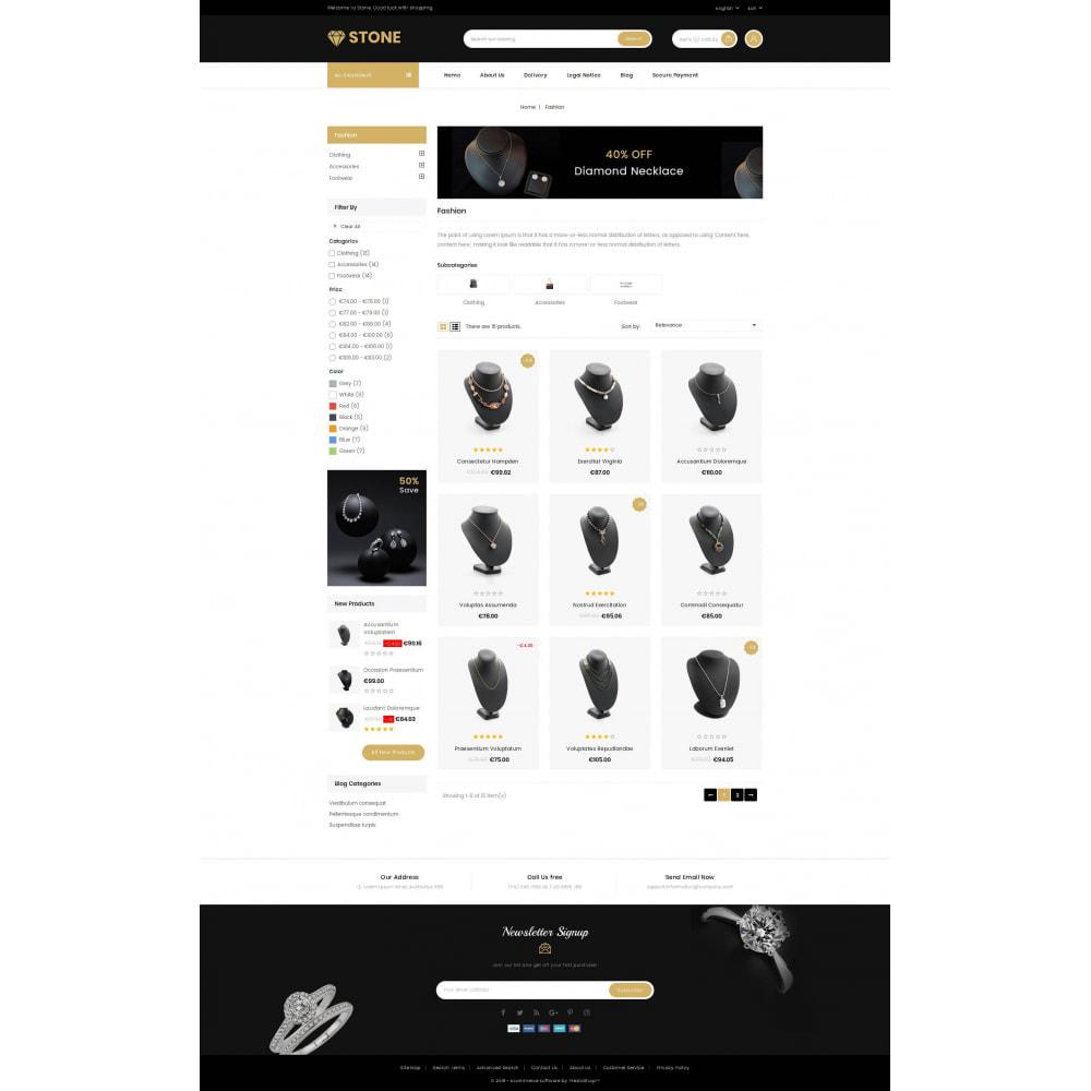 theme - Ювелирные изделия и Аксессуары - Stone - Jewelry Store - 3