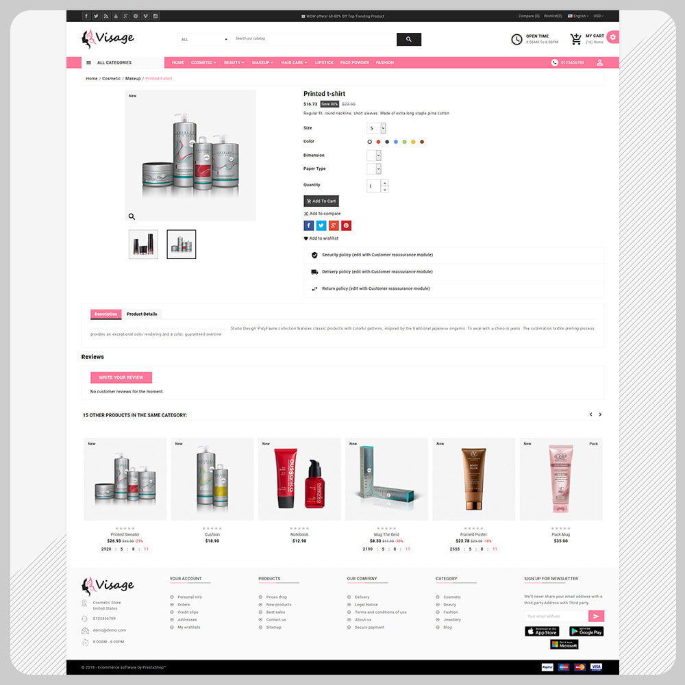 theme - Health & Beauty - Paris Cosmetic – The Cosmetic Super Store - 4