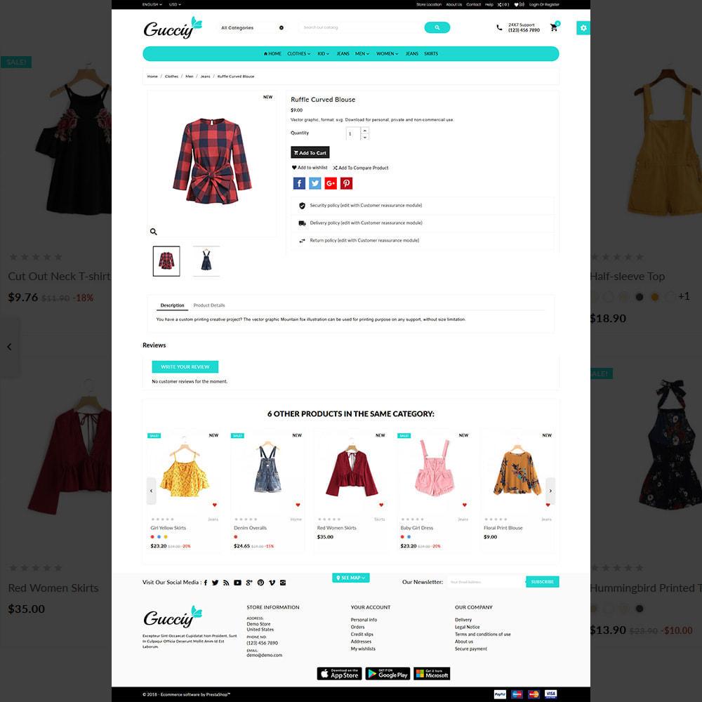 theme - Moda & Obuwie - Gucciy world–Fashion  Big Shop - 4