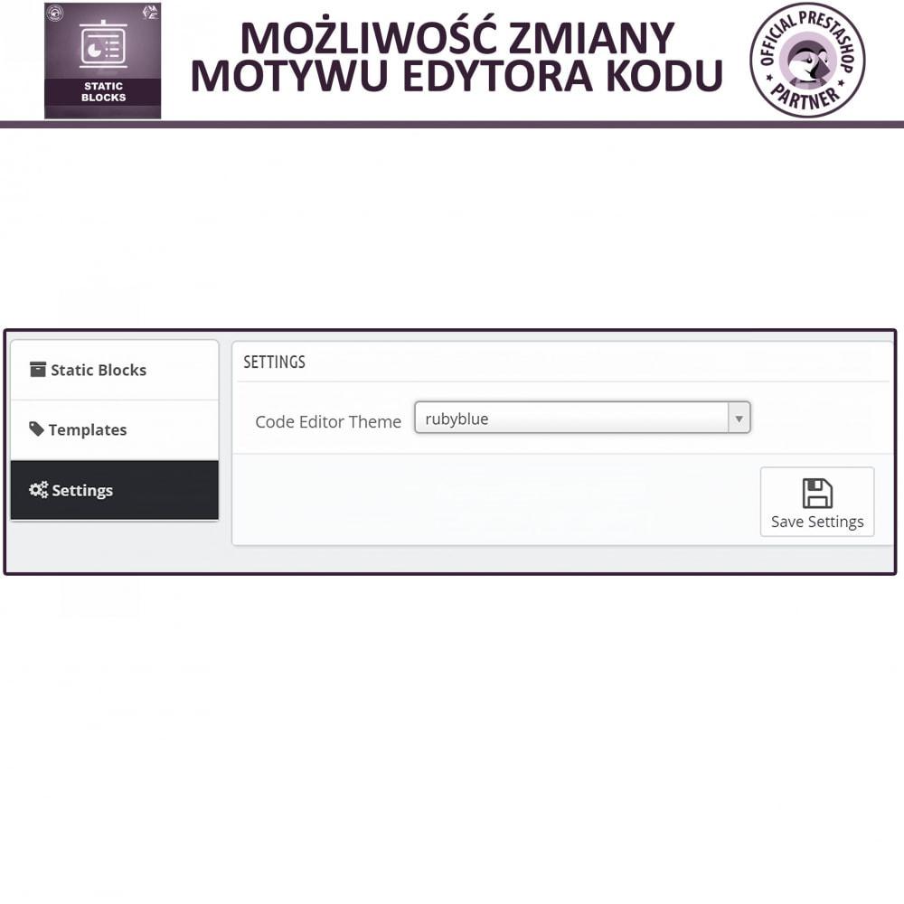 module - Bloki, Zakładki & Banery - Bloków Statycznych - 11