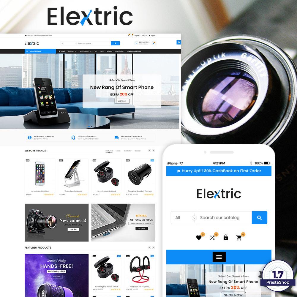 theme - Elektronika & High Tech - Electrix – Electronics and Big Super Store - 1