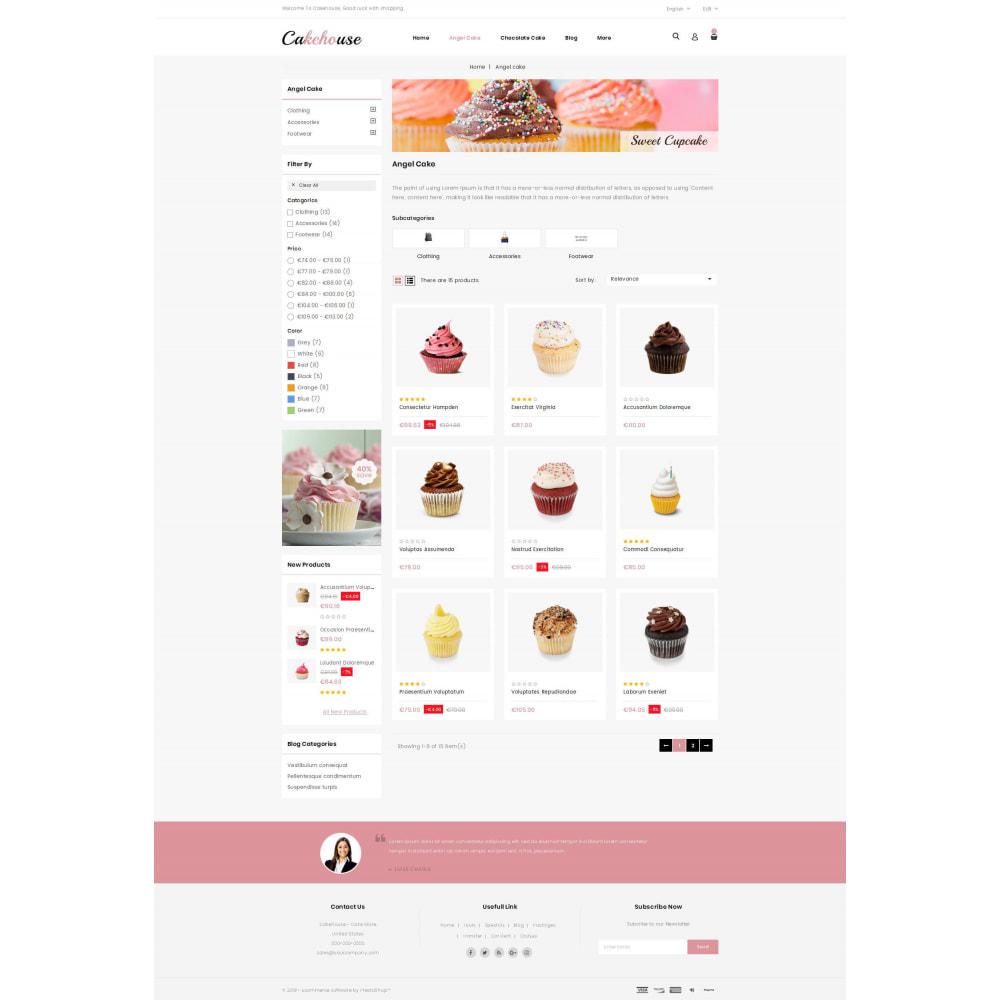 theme - Żywność & Restauracje - Cackehouse - Sweet Cake Store - 3