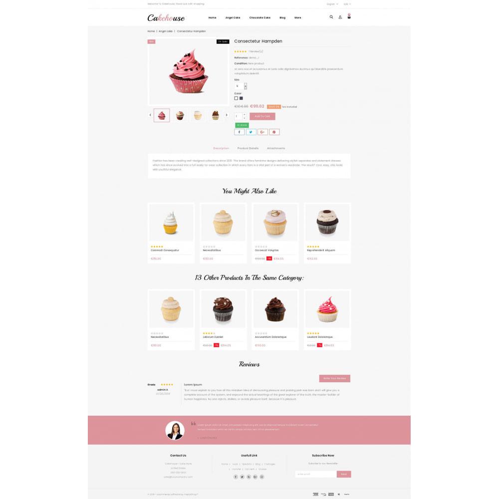 theme - Żywność & Restauracje - Cackehouse - Sweet Cake Store - 5