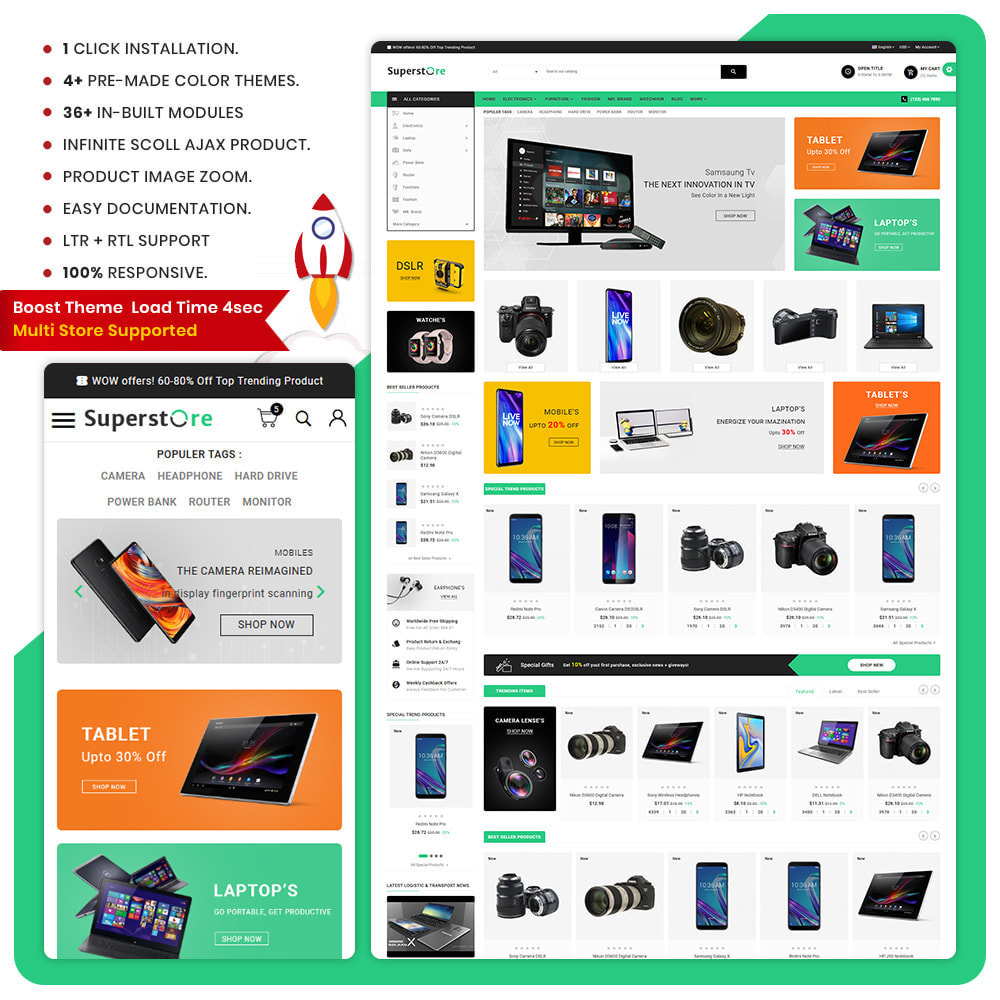 theme - Elektronika & High Tech - The Electronic – Electronic Large Shop - 1
