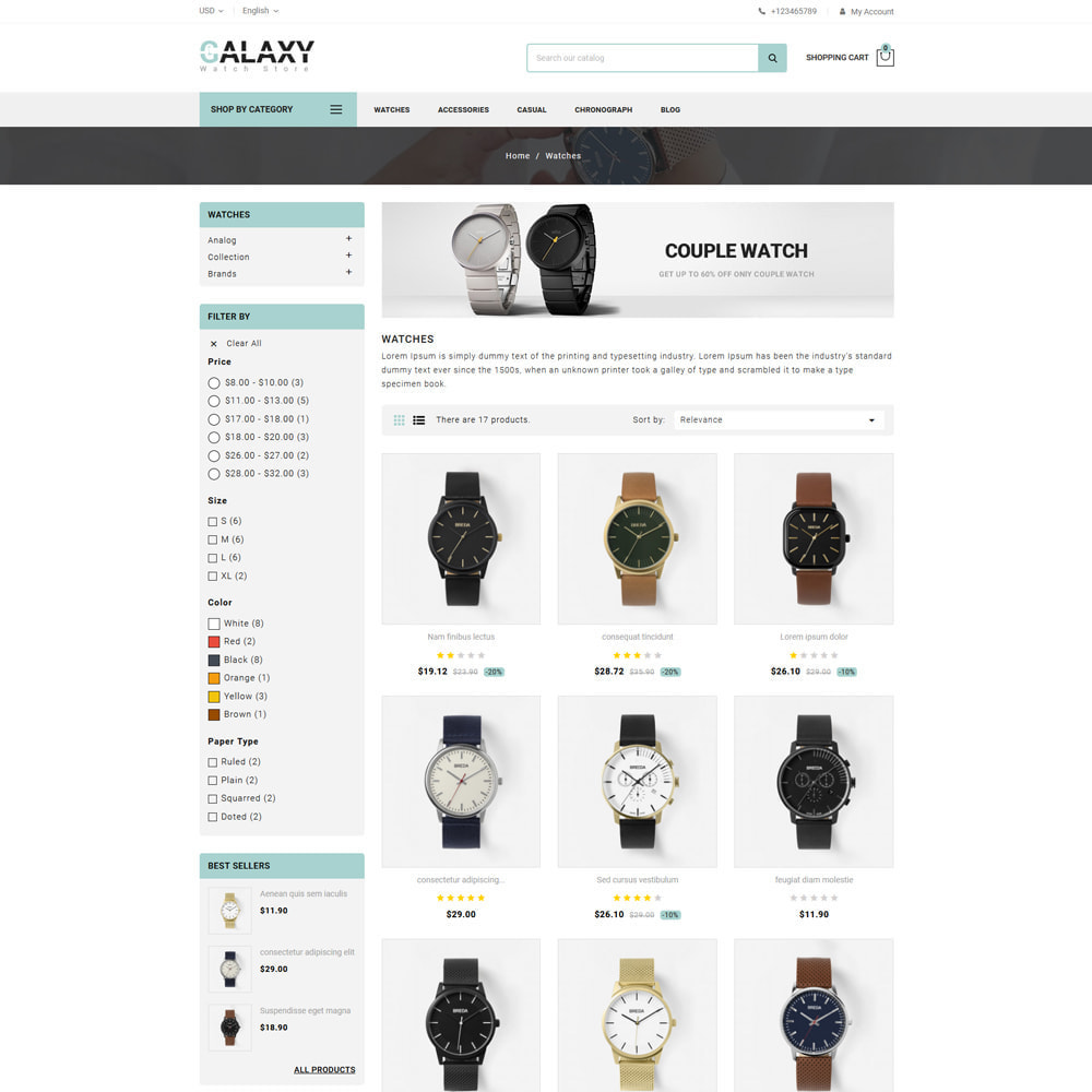 theme - Cadeaus, Bloemen & Gelegenheden - Galaxy - Watch Shop - 3