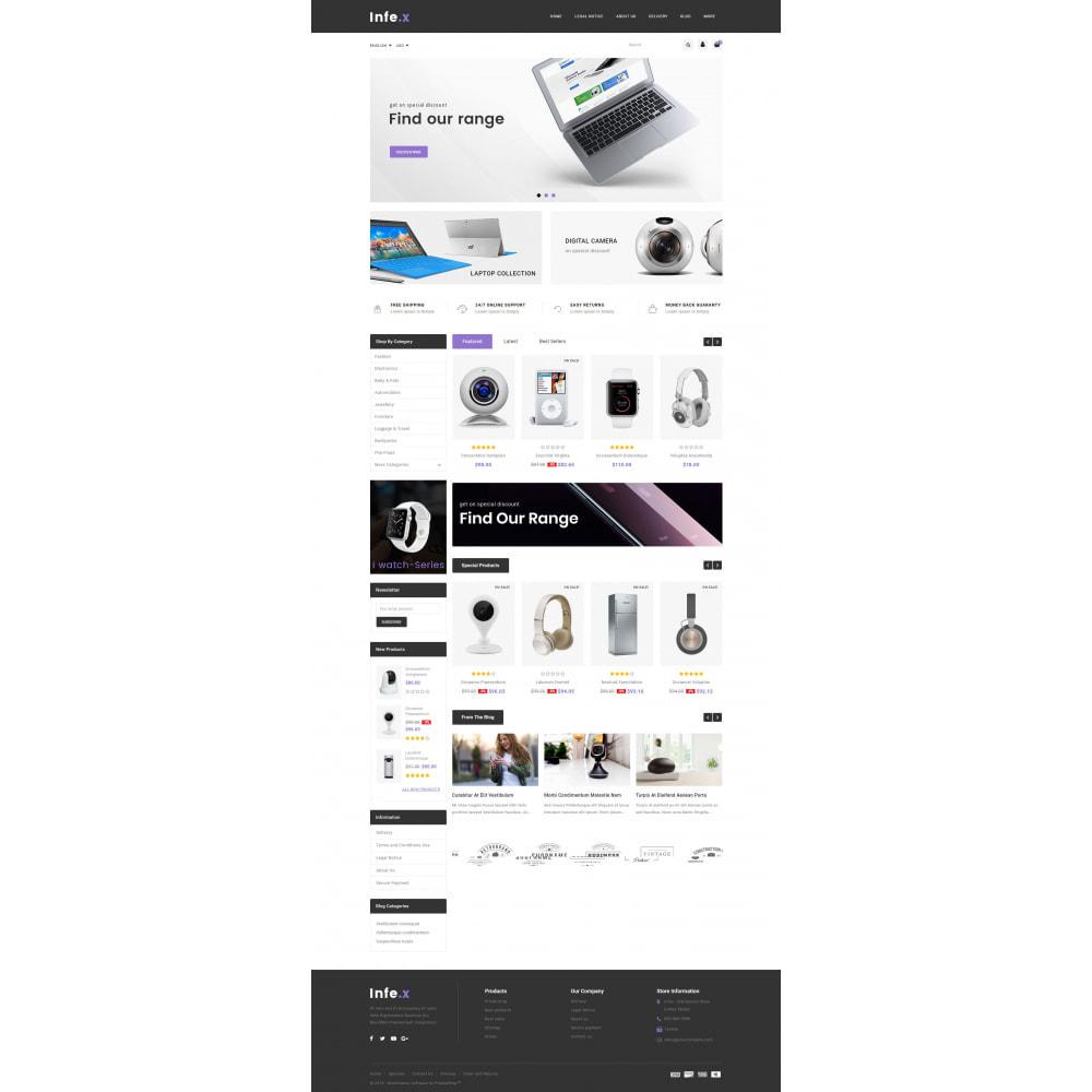 theme - Elektronika & High Tech - Infex - Electronic Store - 2