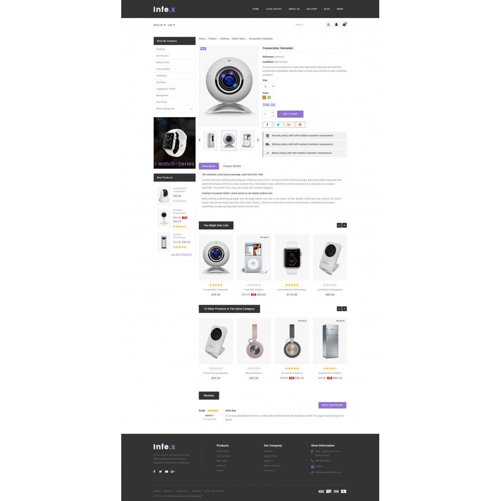 theme - Elektronika & High Tech - Infex - Electronic Store - 5