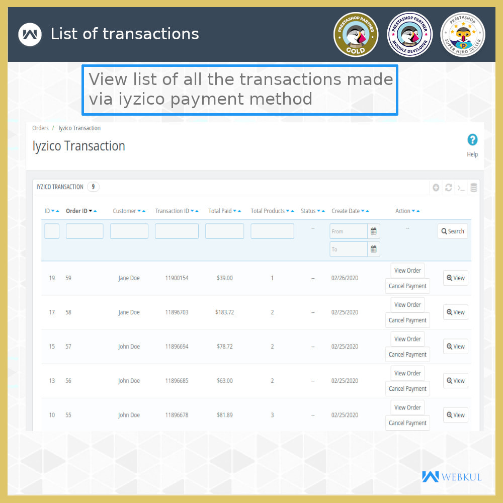 module - Payment by Card or Wallet - Iyzico Payment Gateway - 6