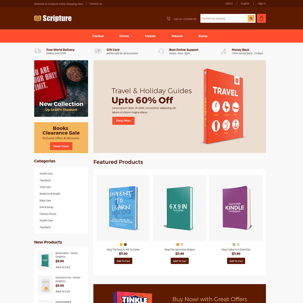 theme - Dom & Ogród - Online Book -Album  Stationary Office Work Store - 1