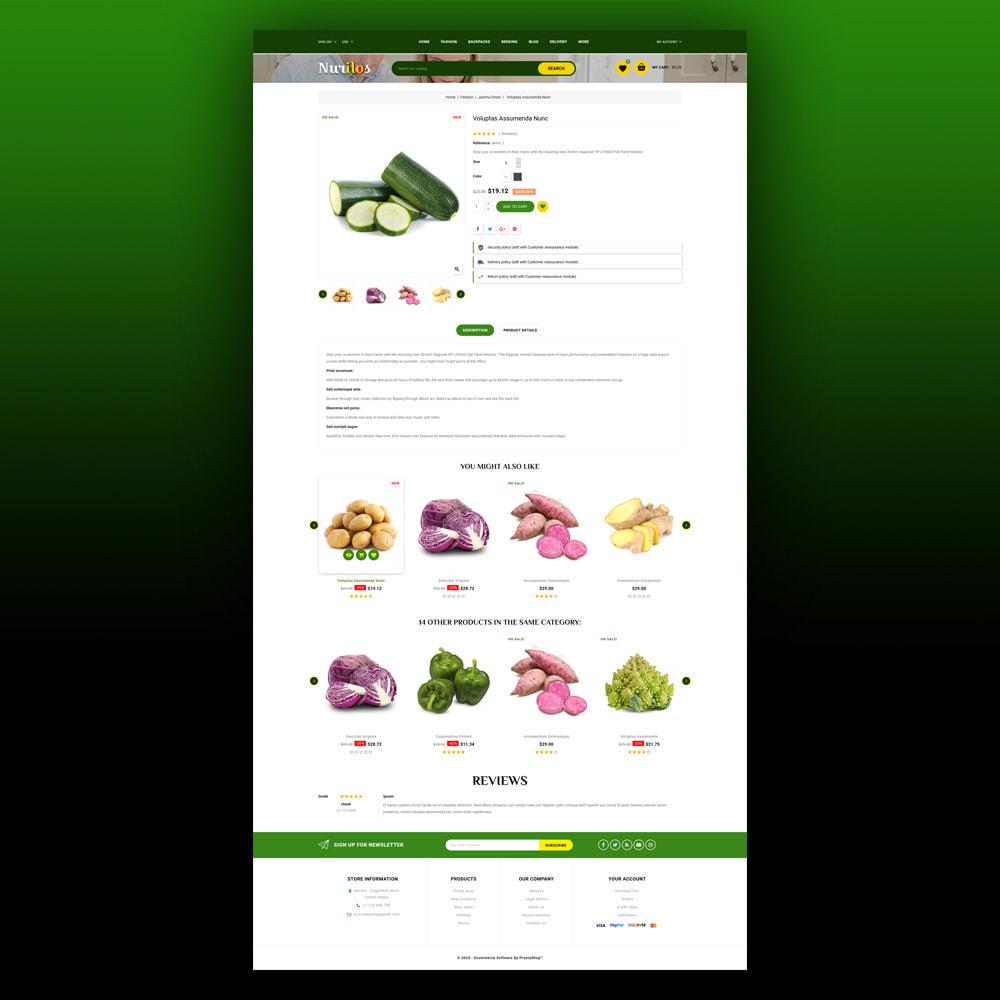 theme - Żywność & Restauracje - Nurilos - Vegetable Store - 6