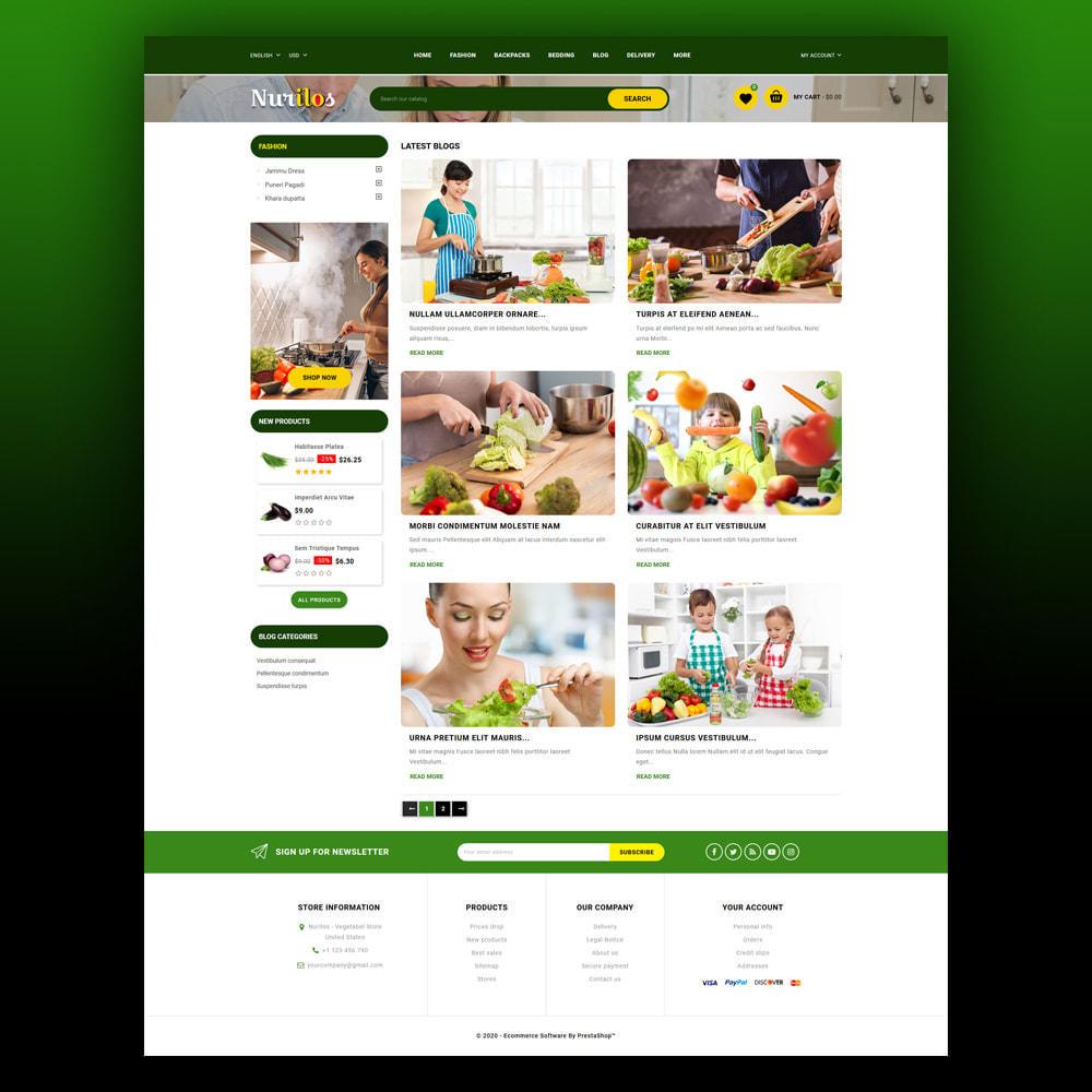 theme - Żywność & Restauracje - Nurilos - Vegetable Store - 7
