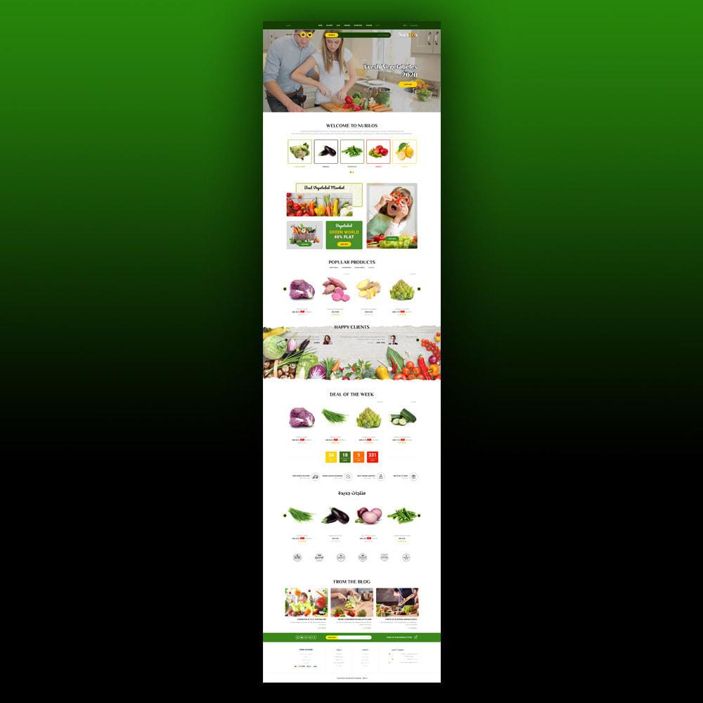 theme - Żywność & Restauracje - Nurilos - Vegetable Store - 8