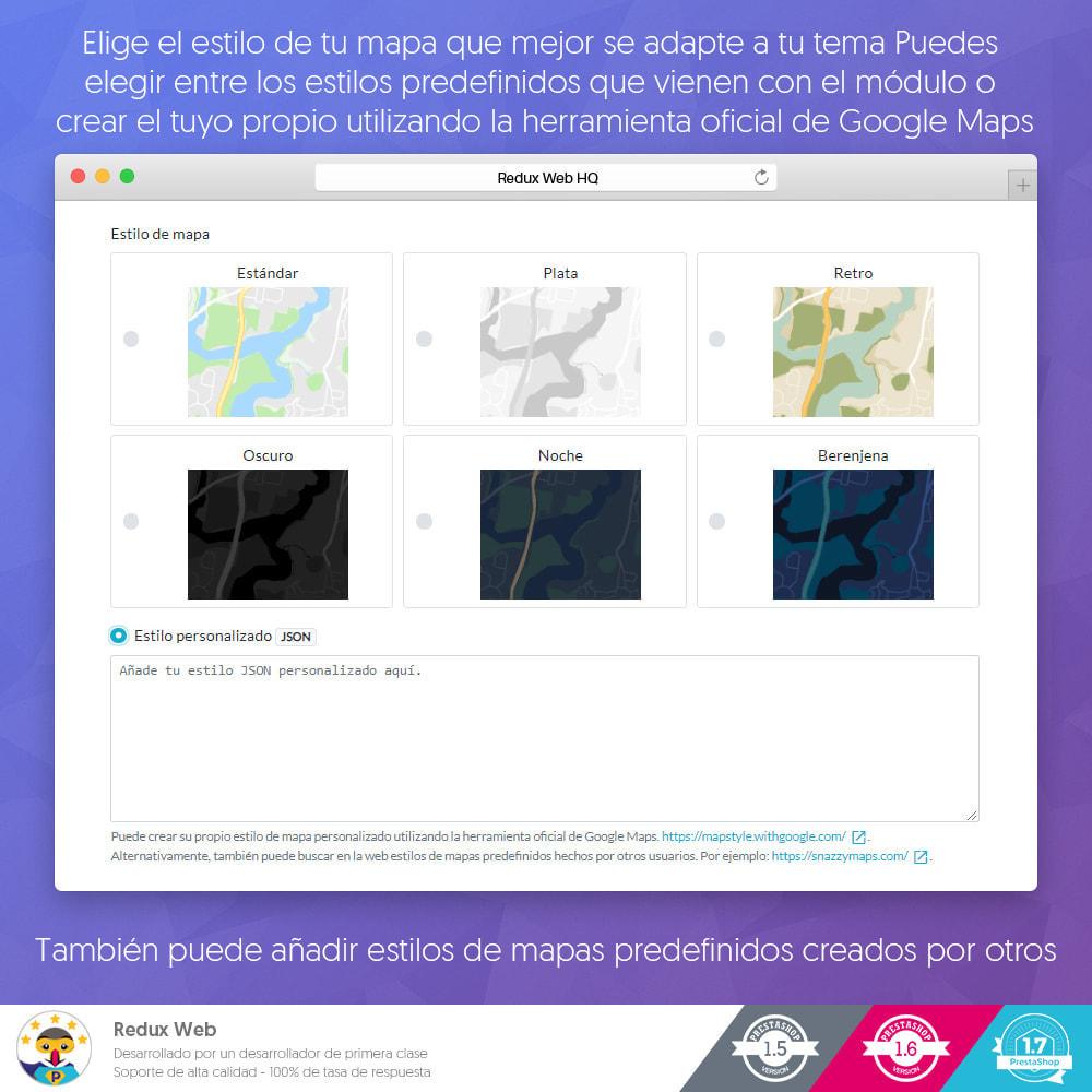 module - Internacionalización y Localización - Mapa de Tiendas Avanzadas - Google Maps - 4