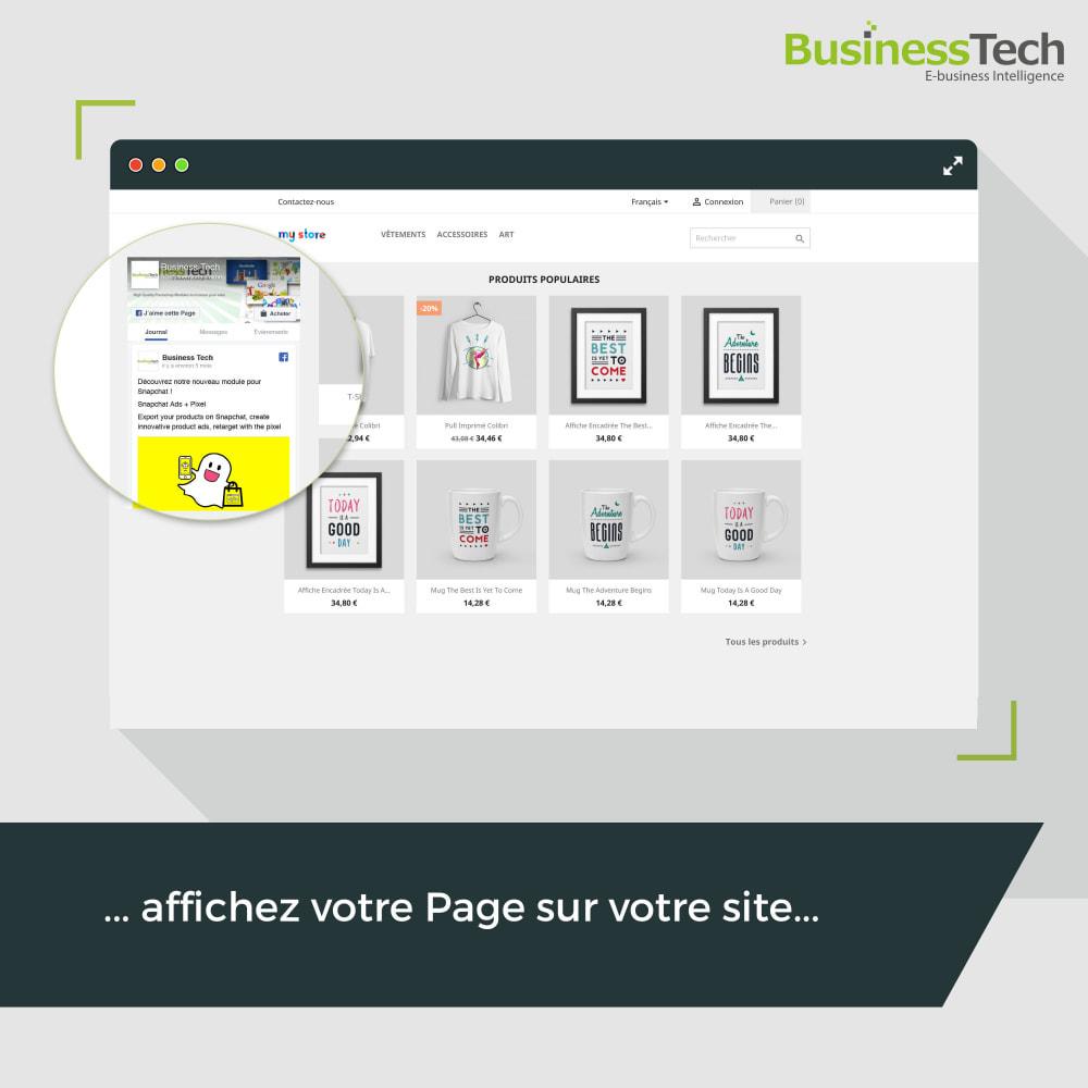 module - Boutons de Partage & Commentaires - Social Plugins - 6