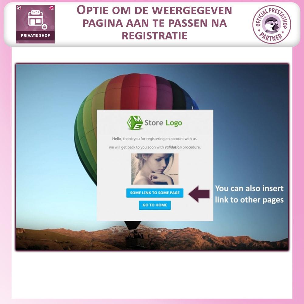 module - Uitverkoop & Besloten verkoop - Prive Winkel - Inloggen om producten te zien/Winkel - 4