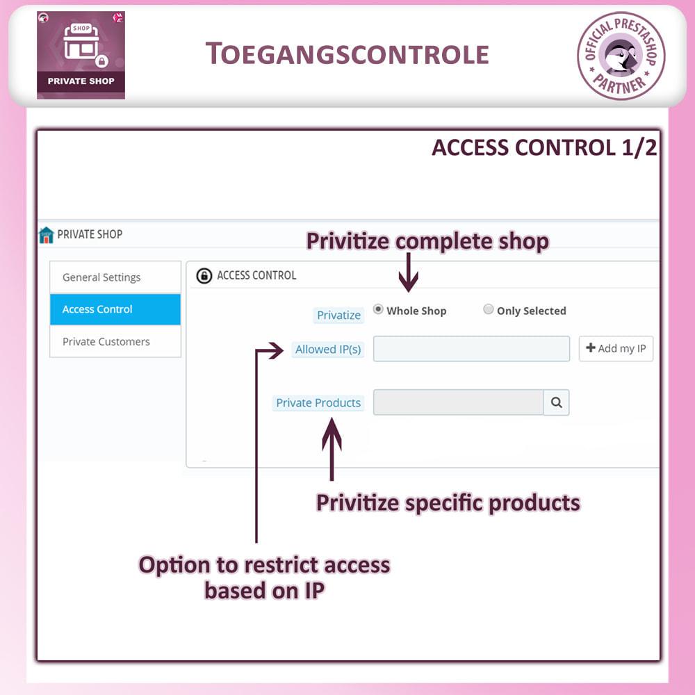 module - Uitverkoop & Besloten verkoop - Prive Winkel - Inloggen om producten te zien/Winkel - 10