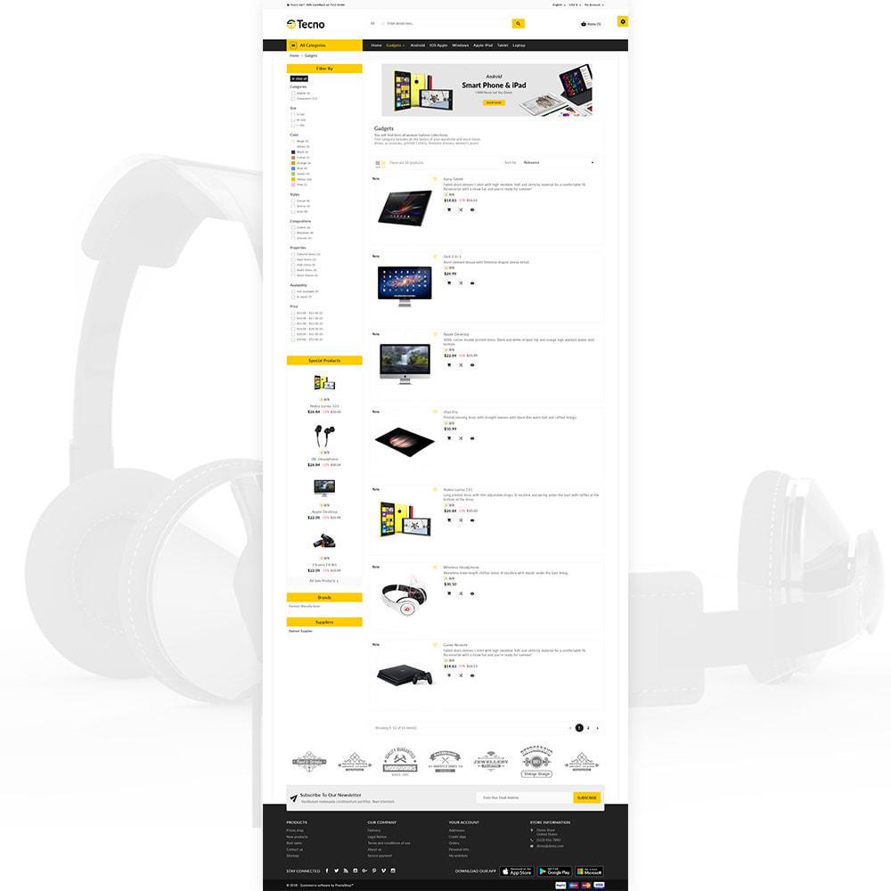 theme - Electrónica e High Tech - Tecno – The Electronic Multi Purpose Mall - 3