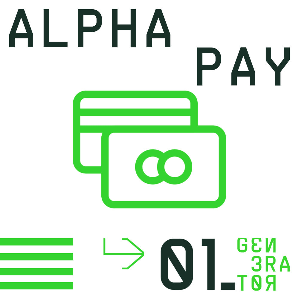 module - Payment by Card or Wallet - AlphaPay - 1