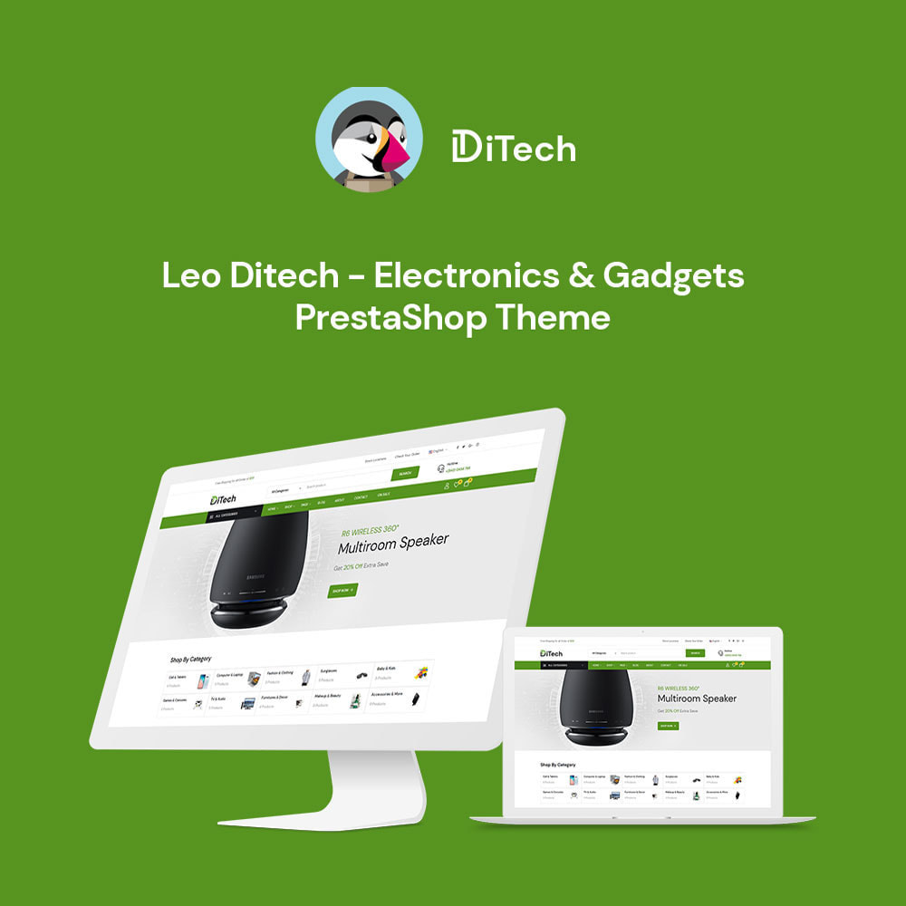 theme - Elektronik & High Tech - Ditech Electronics Ecommerce Store - 2