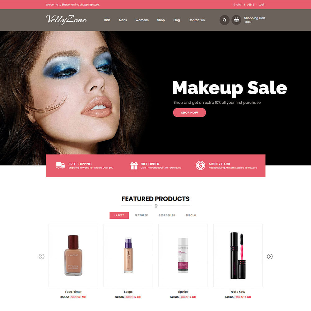 theme - Salute & Bellezza - Makeup Cosmetics  - Perfumes  Accessories Store - 3