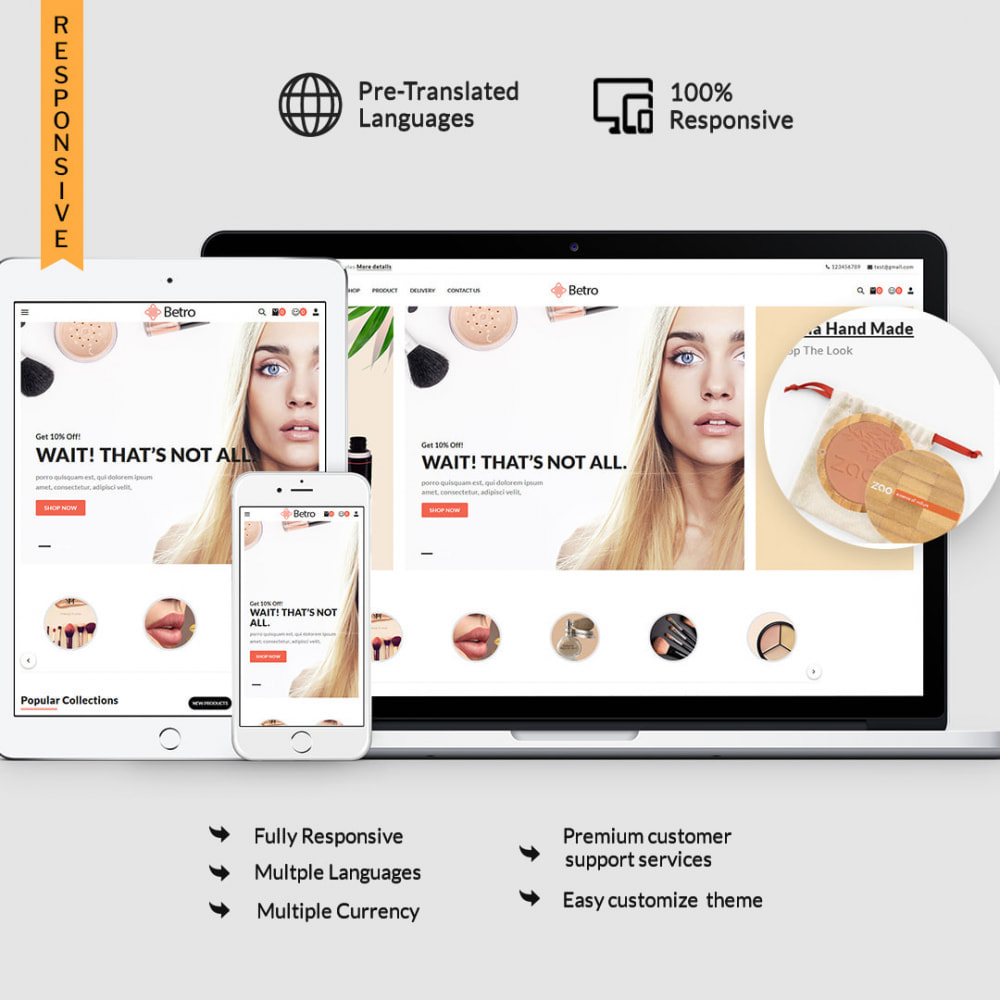 theme - Salud y Belleza - Betro - The Beauty Store - 1